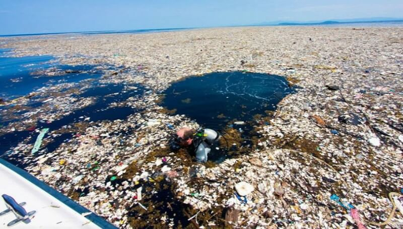 Le 7ème continent de plastique (image Alter-info)