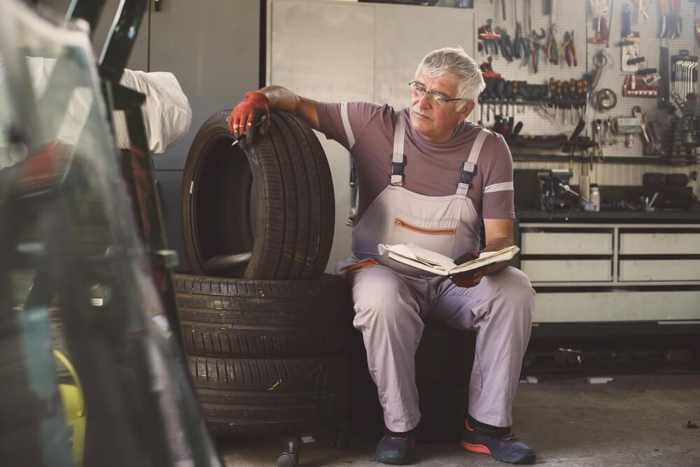 64 ans ouvrier retraite